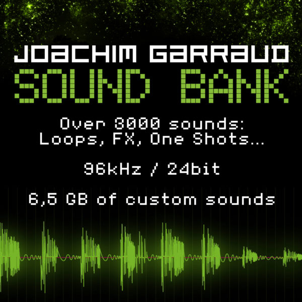 Joachim Garraud Sound Bank 6,5GB